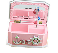 Music Box Novelty Pink ABS
