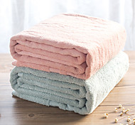 1PC Bath TowelSolid High Quality 100% Cotton Towel