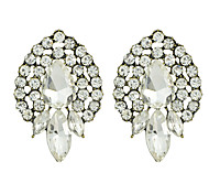 White Small Stud Earrings for Ladies