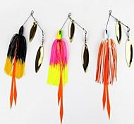 """1 pcs Señuelos duros Cebos Señuelos duros Colores Surtidos 14 g/1/2 Onza mm/3-5/16"""" pulgada,Plástico duro PEPesca de baitcasting Pesca en"""