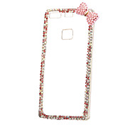 For Huawei Case P9 P8 Lite Rhinestone Case Back Cover Case Solid Color Hard PC