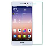 beittal® 0,26 millimetri bordo arrotondato 9h trasparente in vetro temperato protezione dello schermo a membrana per Huawei Ascend p7