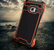 For Samsung Galaxy Case Shockproof Case Full Body Case Armor Metal Samsung S6 edge