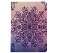 For Samsung Tab T580 T280 Case Cover with Stand  Flip Case Full Body Case Mandala Hard PU Leather for T560 T550 T350