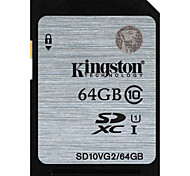 Kingston 64GB SD Card memory card UHS-I U1 Class10