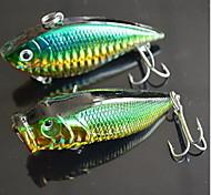 1 pcs VIB Popper Hard Bait Fishing Lures Hard Bait Random Colors Hard Plastic Sea Fishing