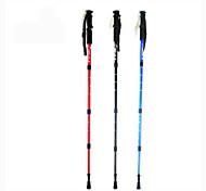 OSEAGLE Caoutchouc Alliage d'aluminium 6061 110cm (43 pouces)Bâtons de marche Bâtons Trekking Bâtons de marche multifonctionnels bâton de