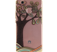 For Huawei P9 Lite P8 Lite Y6 II Enjoy 5 Honor 8 TPU Material IMD Process Hand-Painted Tree Pattern Phone Case