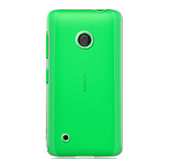 For Transparent Case Back Cover Case Solid Color Hard PC Nokia Nokia Lumia 530