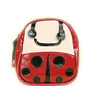 Gato Cachorro Pacote de cão Animais de Estimação Transportadores Portátil Fofo Vermelho