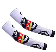 Leg Warmers/Knee Warmers Bike Thermal / Warm Protective Comfortable Unisex White LYCRA®