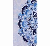 Für google pixel xl pixel Fallabdeckung halbe Blume gemaltes pu Telefonkasten