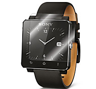 2 Packs Premium Glass Film 0.2mm Real Tempered Glass Screen Protector for Smart watch SONY SW2