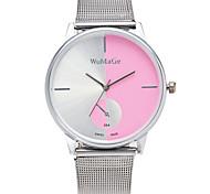 Women's Wrist watch Quartz Alloy Band Silver