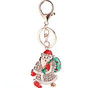 Key Chain Key Chain Red Green Silver Metal