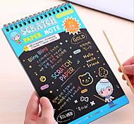 Милый стиль / Деловые / Многофункциональные-Креативные ноутбуки-Бумага