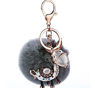 Key Chain Sphere Key Chain Metal Plush
