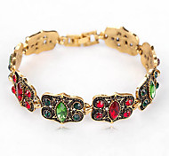 Women's Chain Bracelet Crystal Fashion Luxury European Rhinestone Jewelry For Daily