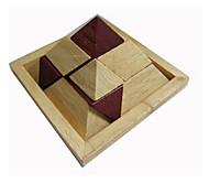 Kong Ming Lock- Dreieck Holz Für Jungen Für Mädchen 5 bis 7 Jahre 8 bis 13 Jahre 14 Jahre & mehr