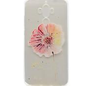 Для huawei p9 plus p9 lite tpu материал цветы шаблон окрашенный рельеф телефон чехол для p9 p8 lite y5ii честь v8 честь 8 y600 nova mate 9