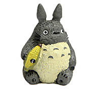 Action Figures & Stuffed Animals / Display Model Model & Building Toy Toys Novelty Cat Rubber Gray For Boys / For Girls