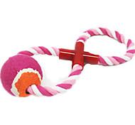 Dog Toy Pet Toys Interactive Rope Pink Plush