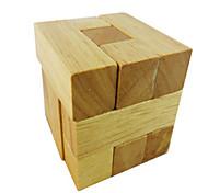 Kong Ming Lock Toys Wood Khaki