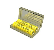 NITECORE IMR18650 3100MAH 35A Li-ion Rechargeable Battery (Two Batteries/ Box)