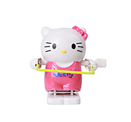Wind-up Toy Novelty Toy Toys Novelty Cat Plastic Pink For Boys For Girls