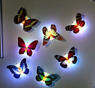 7 изменение цвета бабочки светодиодные лампы Night Light