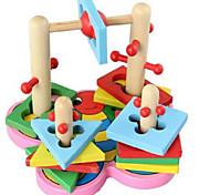 Alivia Estresse / Blocos de Construir / Brinquedo Educativo para presente Blocos de Construir Hobbies de Lazer Circular / Quadrangular