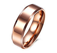 Ring Jewelry Steel Simple Style Rose Jewelry Casual 1pc