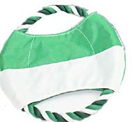 Dog Toy Pet Toys Flying Disc Durable Green Plush