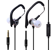 HUAST HST-45 Stereo HeadPhone In Ear Earphone Metal Handsfree Headset with Mic 3.5mm Earbuds For All Phone MP3 Player