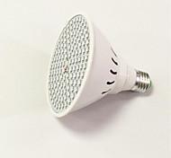 8W E26/E27 LED Grow Lights 3528 200SMD(166 Red34 Blue) 800-850 lm AC85-265 V 1 pcs