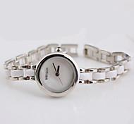 Women's Dress Watch Fashion Watch Bracelet Watch Quartz Water Resistant / Water Proof Stainless Steel Band Silver Rose Gold Brand