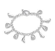 Bracelet Chaînes & Bracelets Charmes pour Bracelets Cuivre Plaqué argent Gland Mode Bohemia style Style Punk PersonnaliséQuotidien