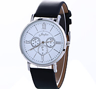 Men's Women's Dress Watch Fashion Watch Wrist watch Chinese Quartz Leather Band Charm Multi-Colored