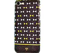 For IMD Glitter Shine Process Triangle Semi-Surrounded Pattern Soft TPU Phone Case for iPhone 7 Plus 7 6Plus 6S 6
