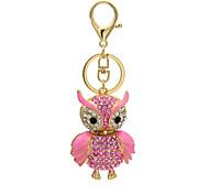 The new diamond diamond pendant creative owl bag