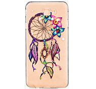 For Samsung Galaxy J7 Prime J5 Prime J710 J510 J5  J310 J3  TPU Material Flowers Wind Chimes Pattern Painting Phone Case