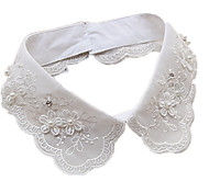 Women's Collar Necklace Pearl Lace Simulated Diamond Basic White Jewelry Daily Casual 1pc