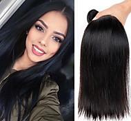 Ciocche a onde capelli veri Peruviano dritto 12 mesi 3 pezzi tesse capelli