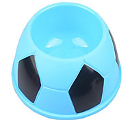 Chat Chien Bols & Bouteilles d'eau Animaux de Compagnie Bols & alimentation Portable Pliable Blanc Bleu Rose Silicone