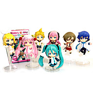 Vocaloid Hatsune Miku PVC 9.5 Anime Action Figures Model Toys Doll Toy (7PCS)