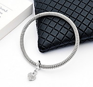 Women's Chain Bracelet Simulated Diamond Alloy Simple Style Fashion Personalized Jewelry Jewelry 1pc