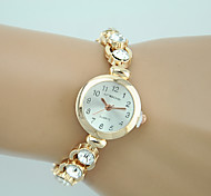 Women's Fashion Watch Quartz Rhinestone Charm Bracelet Watch
