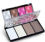 1 Blush Dry Pressed powder Natural Face Multi-color