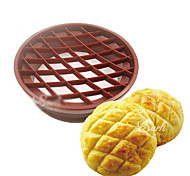 Pineapple Bun bread Seal Cookies Biscuit Cutters Fondant Gum Paste Decorating Sugar craft Tools for the Kitchen Baking(1PCS)