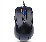 Oficina de ratón ratón en silencio ratón ergonómico USB 1200 A4TECH